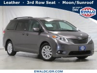 Used, 2014 Toyota Sienna XLE, Silver, JL531A-1