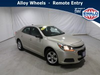 Used, 2015 Chevrolet Malibu LS, Beige, DP54477-1
