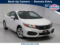 Used, 2015 Honda Civic LX, White, DP54283-1