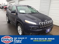 Used, 2015 Jeep Cherokee Latitude, Blue, JH459C-1
