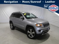 Used, 2015 Jeep Grand Cherokee Limited, Silver, DP54459A-1