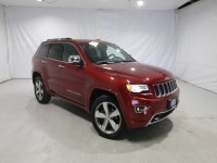Used, 2015 Jeep Grand Cherokee Overland, Red, JM349A-1