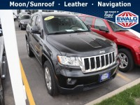 Used, 2015 Jeep Grand Cherokee Overland, White, JM416A-1