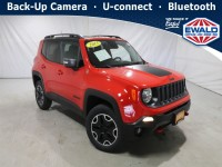 Used, 2015 Jeep Renegade Trailhawk, Red, DM200A-1