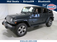 Certified, 2016 Jeep Wrangler Unlimited Sahara, Gray, JM189A-1