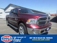 Certified, 2016 Ram 1500 Big Horn, Red, DP53316-1