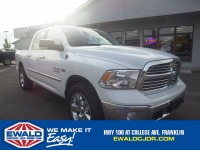 Certified, 2016 Ram 1500 Big Horn, White, DP53317-1