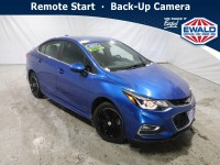 Used, 2017 Chevrolet Cruze LT, Blue, DP54474-1