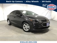 Used, 2017 Chevrolet Cruze LT, Gray, DK335A-1