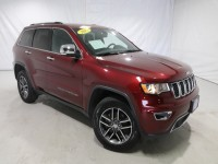 Certified, 2017 Jeep Grand Cherokee Limited, Red, DP54468-1