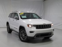 Certified, 2017 Jeep Grand Cherokee Limited, White, DP54263-1