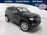 Certified, 2017 Jeep Grand Cherokee Limited, Black, DP54268-1
