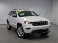 Certified, 2017 Jeep Grand Cherokee Limited, White, DP54269-1
