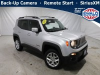 Certified, 2017 Jeep Renegade Latitude, Silver, DM118A-1