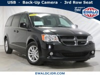 Certified, 2018 Dodge Grand Caravan SXT, Black, DE53973-1