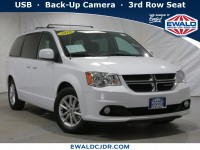 Certified, 2018 Dodge Grand Caravan SXT, White, DE53974-1