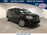 Certified, 2018 Dodge Grand Caravan SXT, Black, DE53982-1