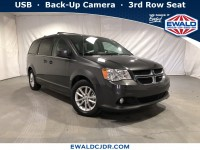 Certified, 2018 Dodge Grand Caravan SXT, Gray, DE53986-1
