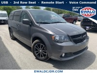 Certified, 2018 Dodge Grand Caravan SE Plus, Gray, DP53825-1