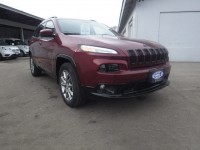 New, 2018 Jeep Cherokee Latitude Tech Connect, Red, JJ236-1