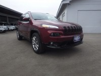 New, 2018 Jeep Cherokee Latitude Tech Connect, Red, JJ237-1