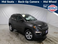 Certified, 2018 Jeep Compass Latitude, Gray, DP54416-1