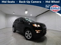 Certified, 2018 Jeep Compass Latitude, Black, JL596B-1