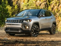 Certified, 2018 Jeep Compass Latitude, Silver, JL604A-1