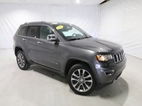 Certified, 2018 Jeep Grand Cherokee Limited, Gray, DP54459-1