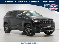 Certified, 2018 Jeep Grand Cherokee Limited, Black, JL560A-1