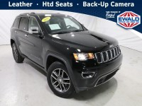 Certified, 2018 Jeep Grand Cherokee Limited, Black, JL607A-1