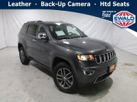 Certified, 2018 Jeep Grand Cherokee Limited, Gray, JM227A-1