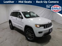 Certified, 2018 Jeep Grand Cherokee Limited, White, JM309A-1