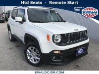 New, 2018 Jeep Renegade Latitude, Alpine White, JJ676-1