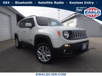 Certified, 2018 Jeep Renegade Latitude, White, NA53877-1