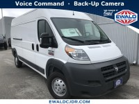 New, 2018 Ram ProMaster Cargo Van 2500 High Roof 159
