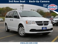 New, 2019 Dodge Grand Caravan SE, White, DK361-1