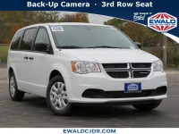 New, 2019 Dodge Grand Caravan SE, White, DK362-1