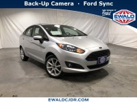 Used, 2019 Ford Fiesta SE Sedan, Silver, DP54157-1