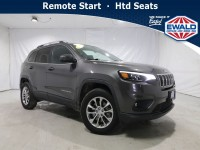 Certified, 2019 Jeep Cherokee Latitude Plus, Gray, JM289A-1
