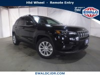 New, 2019 Jeep Cherokee Latitude, Black, JK534-1