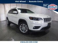 New, 2019 Jeep Cherokee Latitude, White, JK543-1
