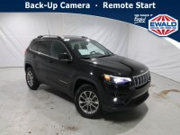 Certified, 2019 Jeep Cherokee Latitude Plus, Black, JM155A-1