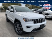 New, 2019 Jeep Grand Cherokee Limited, White, JK461-1