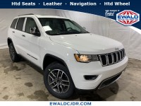 New, 2019 Jeep Grand Cherokee Limited, White, JK469-1