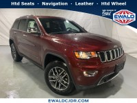 New, 2019 Jeep Grand Cherokee Limited, Red, JK488-1