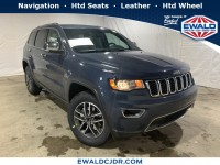 New, 2019 Jeep Grand Cherokee Limited, Blue, JK504-1