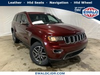 New, 2019 Jeep Grand Cherokee Limited, Red, JK506-1