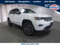 New, 2019 Jeep Grand Cherokee Limited, White, JK508-1