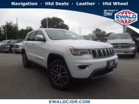 New, 2019 Jeep Grand Cherokee Limited, White, JK509-1